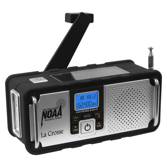 La Crosse Technology Noaa Severe Weather Alert Radio, Black
