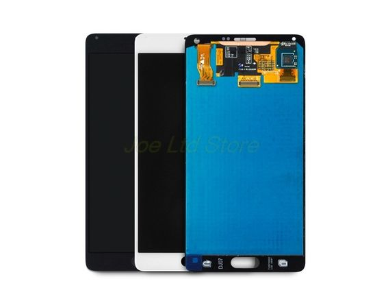 371.00$  Buy here - http://ali2b3.worldwells.pw/go.php?t=32771172736 - 2pcs original For samsung note 4 N9100 LCD screen Display and Touch Screen Digitizer Assembly for note4 replacement parts 371.00$