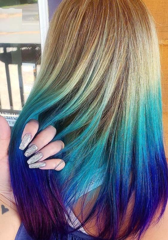 Looking For Best Hair Colors Combinations To Wear Right Now Dont Worry Just See Here And Find The Best Ever Hair C Cool Hair Color Wild Hair Color Hair Color