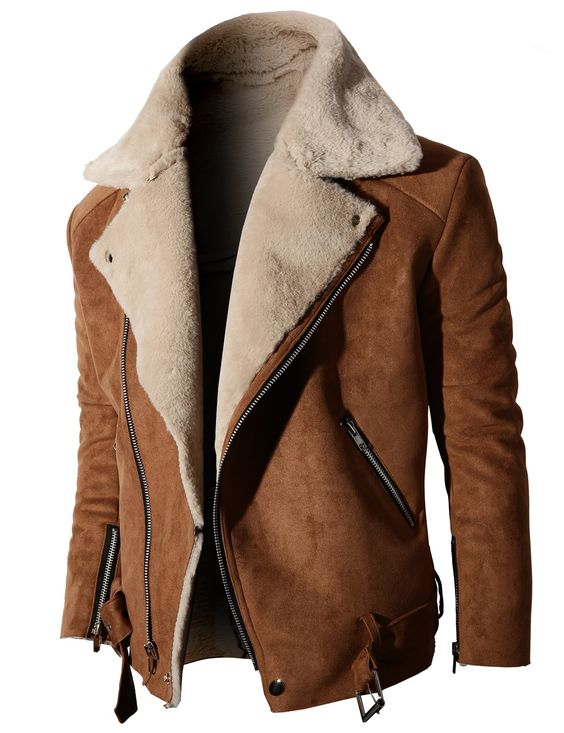 One jacket that I really like is brown is Kanada is made of