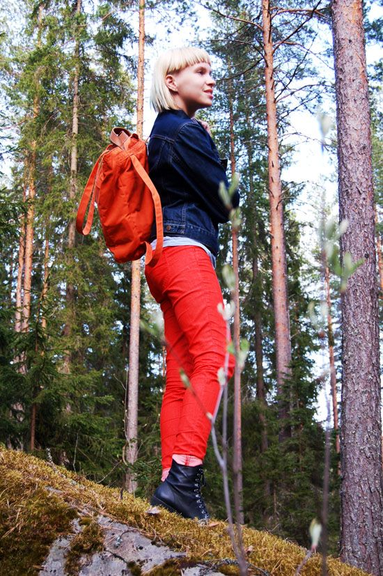 fjällräven totepack no.1 red