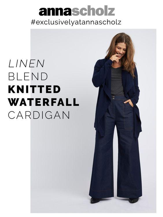 new knitwear by Anna Scholz Plus Size Designer