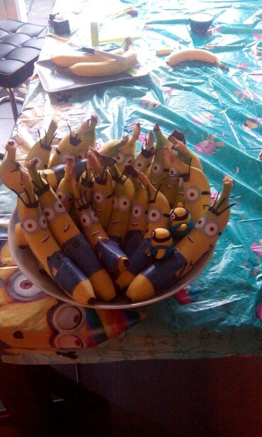 Minion bananen