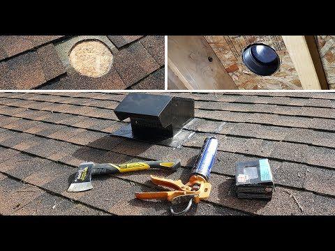 Vent Roof Cap Installation Diy Youtube Roof Cap Roof Vent Cap Metal Roof Vents