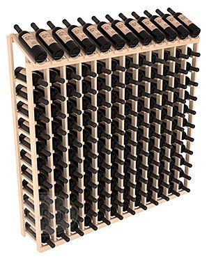 144 Bottle Display Top Wine Rack   Living Series™ Wine Rack