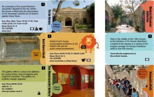 Travel Brochure Jerusalem  Travel