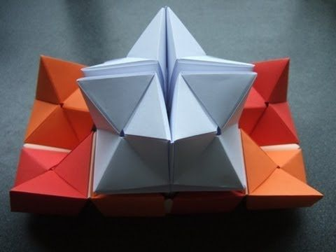 how to make a double star flexicube