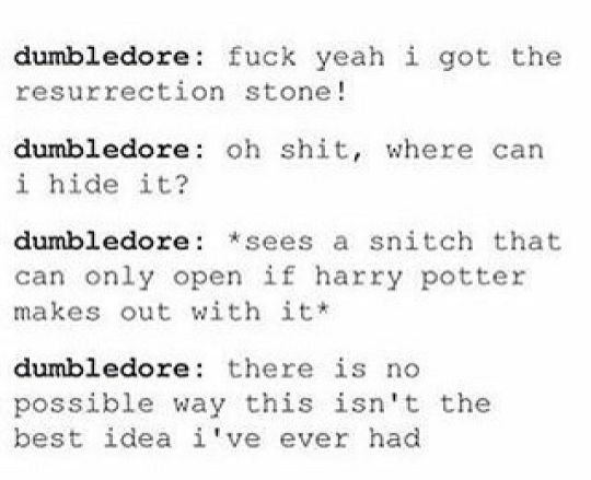 This is why we love Dumbledore: