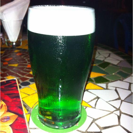 Cerveja verde - St. Patrick's day @ Sheridan's -Curitiba / PR