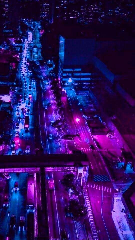 Pin By Cat Beard On Handy Dark Purple Aesthetic City Aesthetic City Wallpaper Dark purple aesthetic wallpaper city