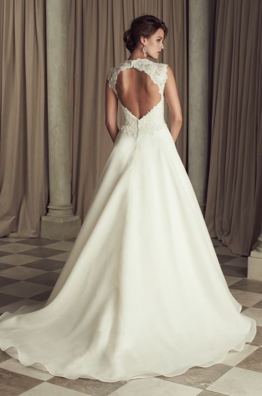 wedding dresses vine inspired keyhole line