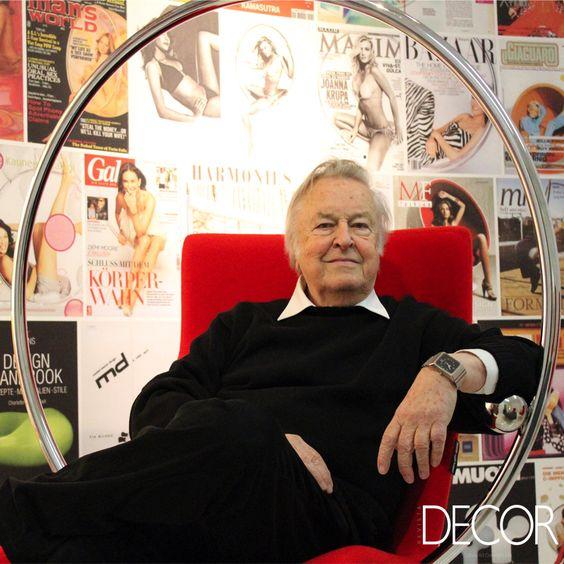 Reconhecido mundialmente como um dos principais nomes do design moderno, Eero Aarnio, aos 83 anos, ganha uma retrospectiva instalada no Design Museum, na capital da Finlândia, que ocorre até 25 de setembro.