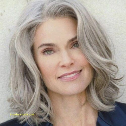 Awesome Mid Length Hairstyles For 60 Year Old Woman Thick Hair Styles Medium Length Hair Styles Hair Styles For Women Over 50