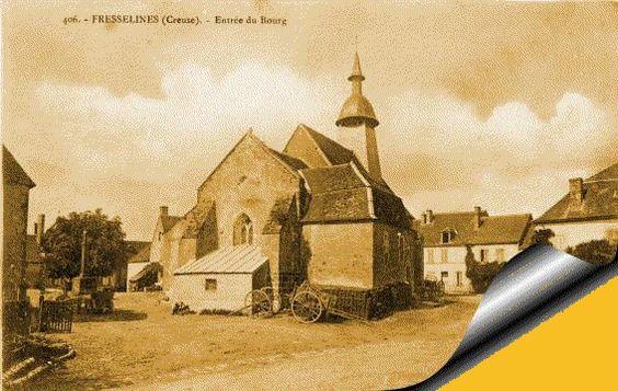 Fresselines Creuse patois photos anciennes