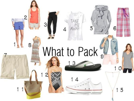 Cabin or Lakeside Packing Ideas