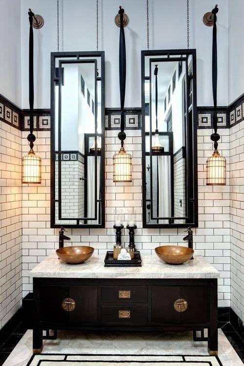 25 Besten Art Deco Badezimmer Ideen Auf Pinterest Art Deco Haus