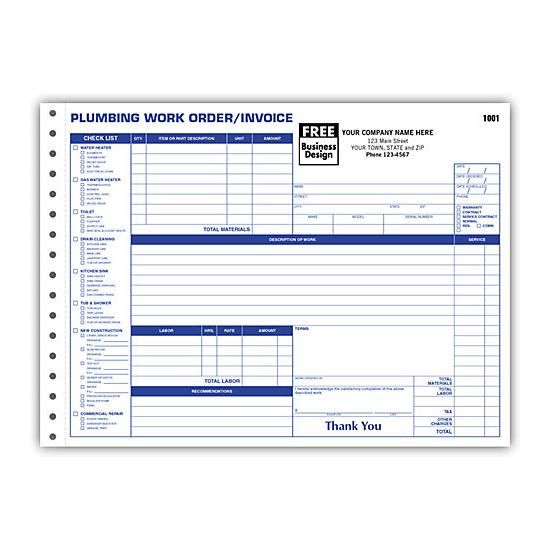 Plumbing Drain Cleaning Septic System Invoice Septic System Drain Cleaner Plumbing