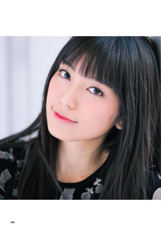 miwaの顔アップ口角