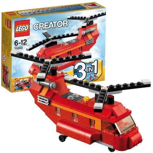 LEGO 31003 Creator: Roter Helikopter  http://www.meinspielzeug24.de/lego-31003-creator-roter-helikopter  #Junge, #LEGOCreator #Konstruktionspielzeug, #Spielwaren