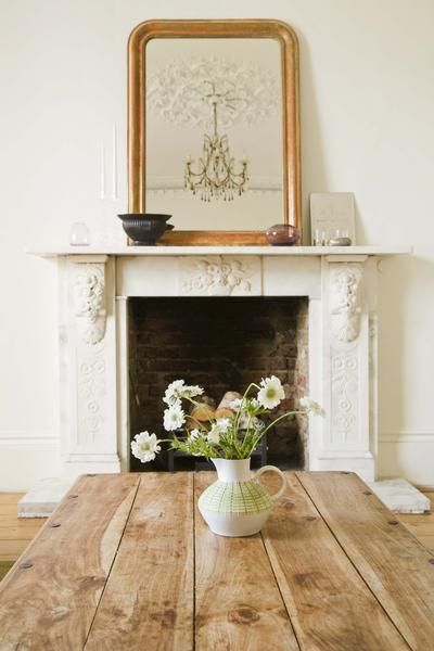 How To Hang A Large Oversized Mirror Over The Mantle Oversized Mirror Mantels And Fireplace