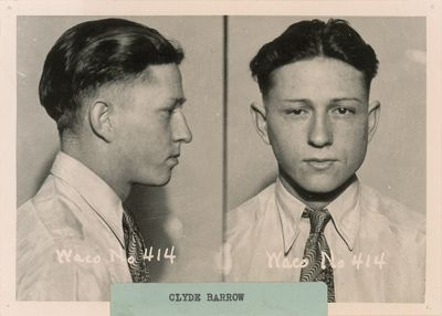 Bonnie parker, Barrow and Mug shots on Pinterest
