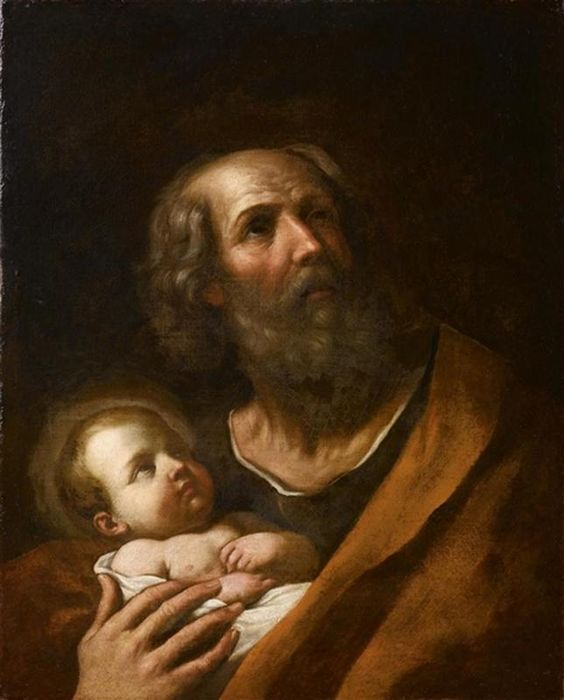 Emilian   School   ––   St. Joseph with baby Jesus, 17th century  (644x800)