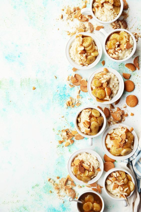 Caramelized Banana Rice Pudding