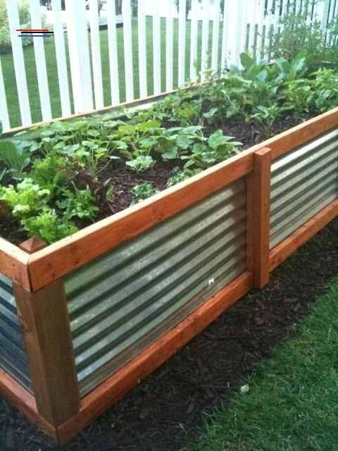 Above Ground Garden Box The Idea I Was Looking For With Elevated Gardening Beds Much Cheaper Above Ground Garden Backyard Vegetable Gardens Elevated Gardening