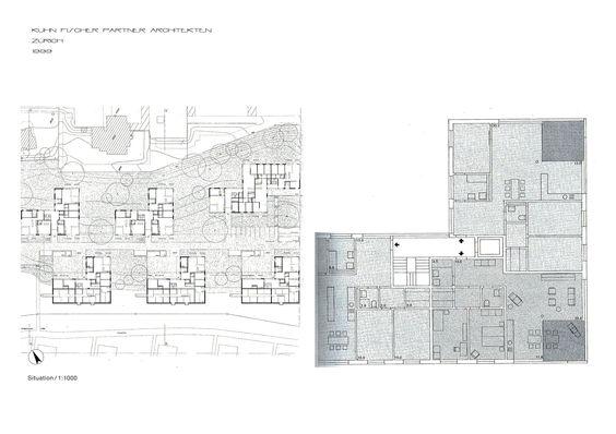 Zuhn Fischer Partiner Architekten, any 1999, Zürich
