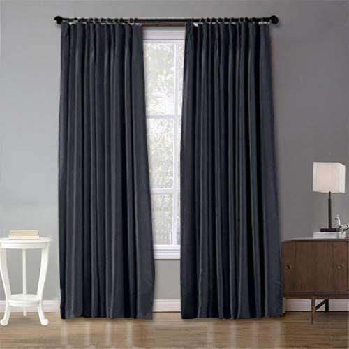 blackout patio door curtain panel drape