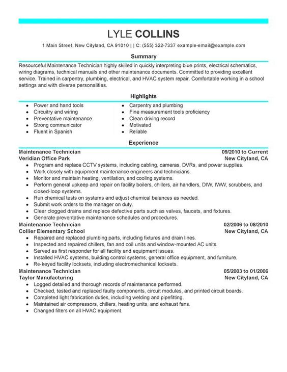 Pin by Job Description And Resumes Examples on Job Description - plumbing resume