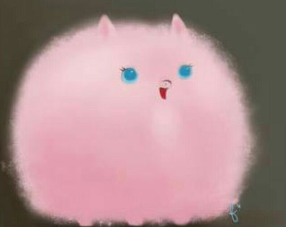 Fluffy puff is cuteeeeeee😆😆😆😆😆😆😆