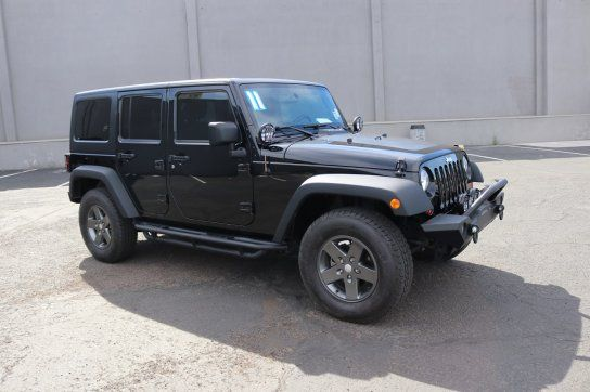 Sport Utility 2011 Jeep Wrangler 4wd Unlimited Rubicon With 4