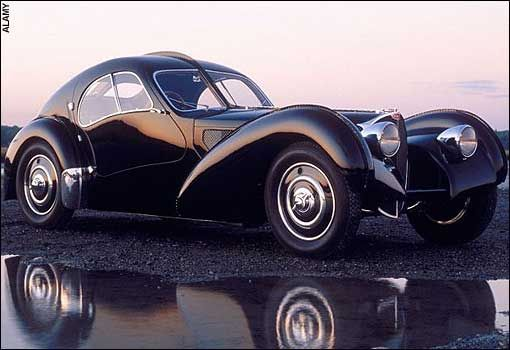 Bugatti Type 57 Atlantique. 1930s and so expensive that only 3 were ever sold