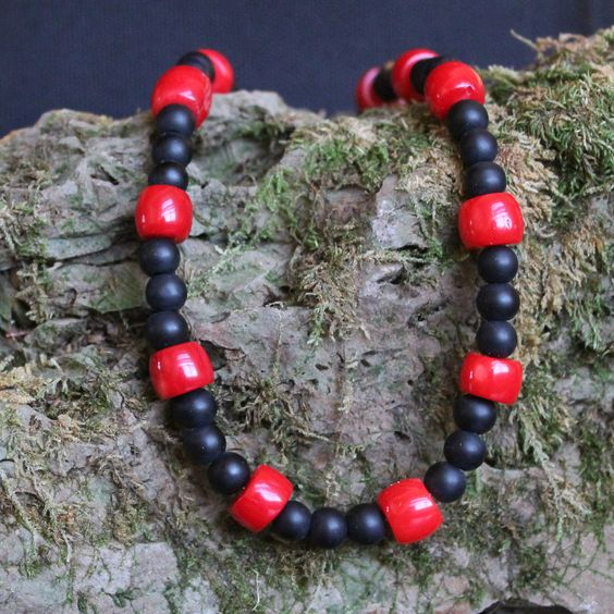 Red Tide by StoneExpressions on Etsy
