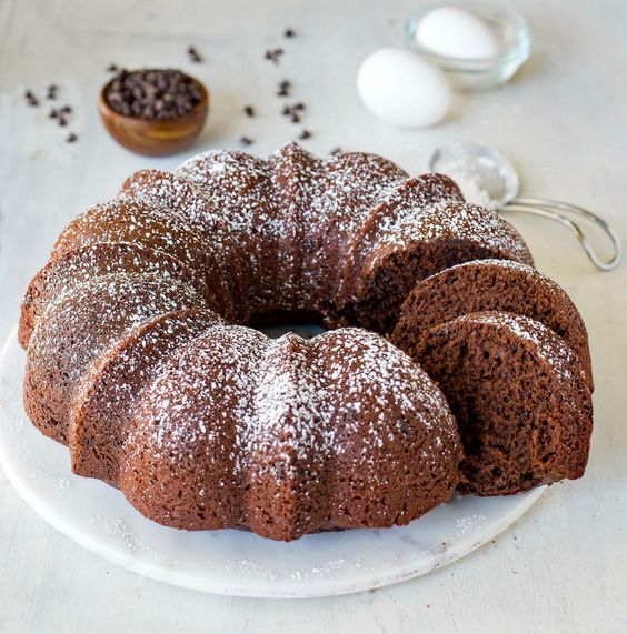 Chocolate Buttermilk Bundt Cake Recipe - i heart eating