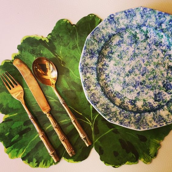 """Set your table with #newportlampandshade #placemats and #dishes. In stock now @ 22 Franklin Street and online at NewportLampandShade.com #tablescape #decoration #spring #newportri #rhodeisland #spongeware"" Photo taken by @newportlampandshadecompany on Instagram, pinned via the InstaPin iOS App! http://www.instapinapp.com (05/22/2015)"