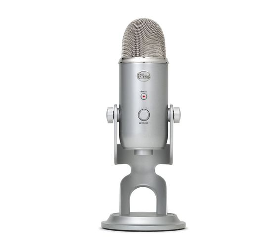 BLUE Yeti USB Professional Microphone -  Silver