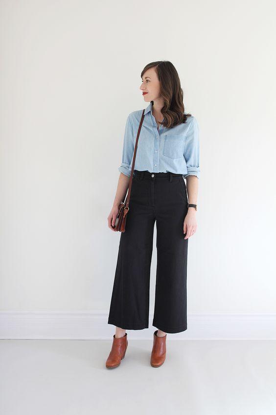 Wide Leg Crop Pant Review