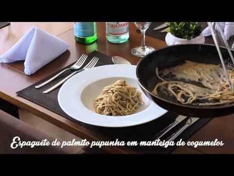 Espaguete de Palmito Pupunha - YouTube