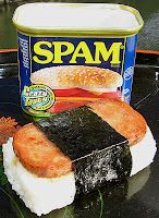 Yummy, spam musubi