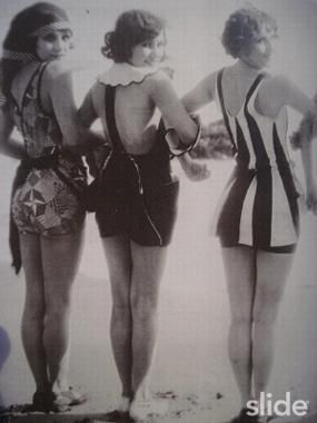 Vintage Swimming Suits: Vintage Swimsuits, 1920S