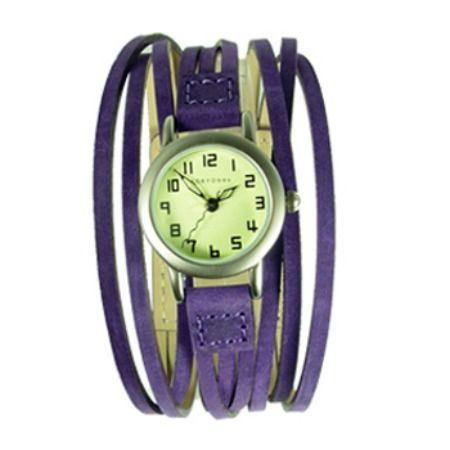 T131 Gaucho Watch in Purple