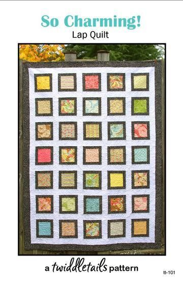 So Charming! Baby ... by Twiddletails | Quilting Pattern - Looking for your next project? You're going to love So Charming! Baby Quilt Pattern PDF by designer Twiddletails. - via @Craftsy