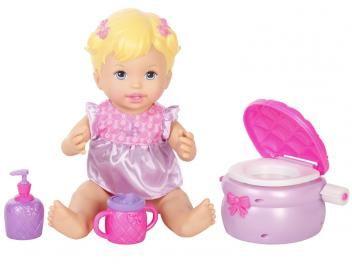 Boneca Little Mommy Hora do Soninho Peniquinho - com Acessórios Mattel