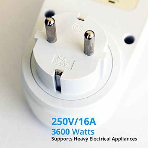 Count On Polycarbonate Timer Switch Digital Programmable Countdown Smart Socket Plug Electronic Automatic Power Control System White Plugs Control System Electrical Appliances