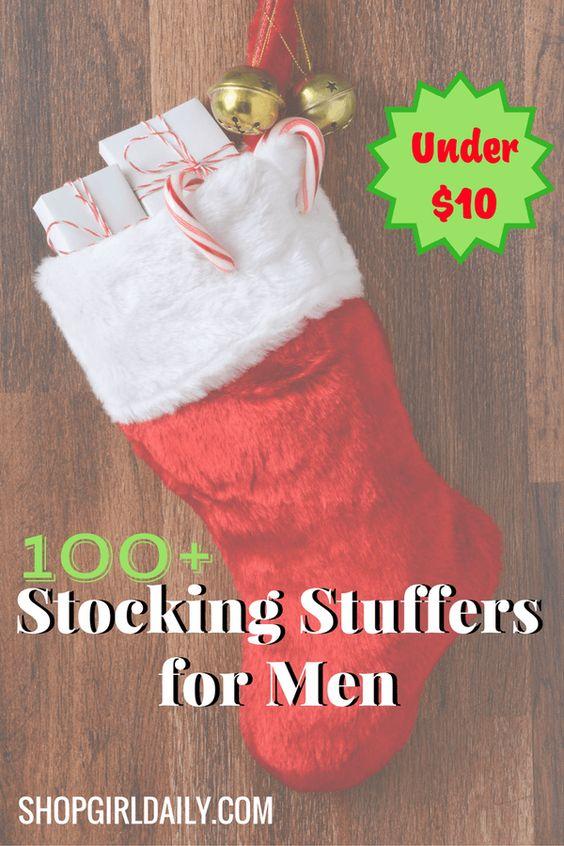 100+ of the best stocking stuffers for men under $10 | ShopGirlDaily.com