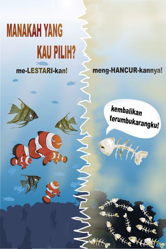 50 Contoh Poster Dan Slogan Bertema Lingkungan Menarik Kreatif Poster Pelestarian Lingkungan Hidup Kreatif