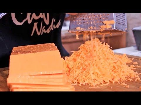 جبن الشيدر بطريقة سهلة وسريعة مداق اصلي وكمية وفيرة Youtube Food Cheese Coconut Flakes