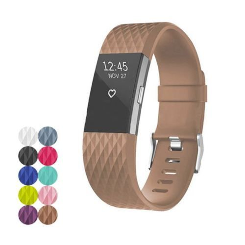 Fitbit Charge 2 Strap Band Watch Replacement Diamond Fitbit Bands Fitbit Strap Fitbit
